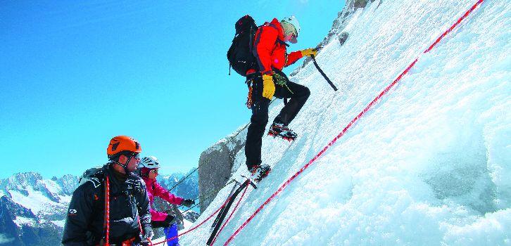Alpinism nybörjare heltid, Prép Mt Blanc