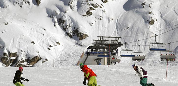 Snowboard heltid