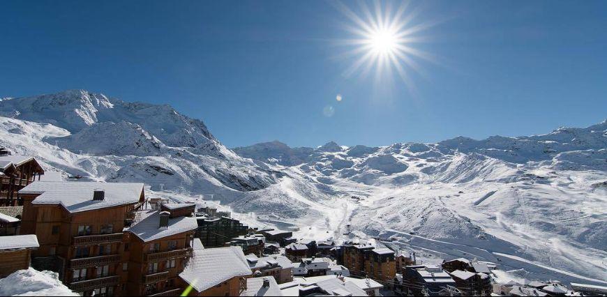 Snön har kommit till Alperna!