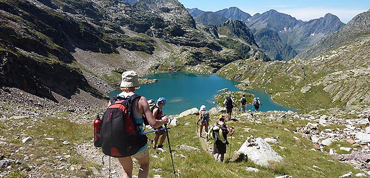 Vandring Chamonix-Zermatt heltid