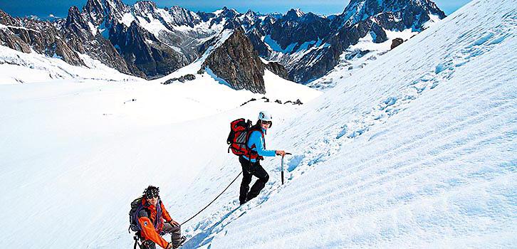 Alpinism, Bestiga Mont Blanc, forts heltid