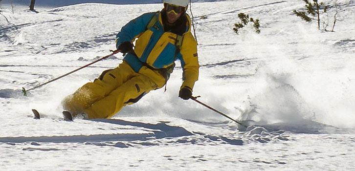 Ski off pist toute neige halvtid