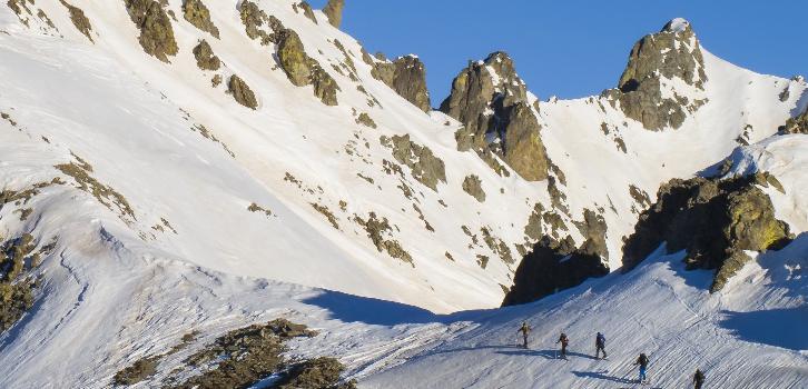 Ski off pist randonnée