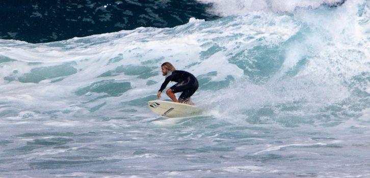 Vågsurf heltid, Fuerteventura
