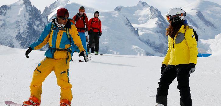 Snowboard halvtid