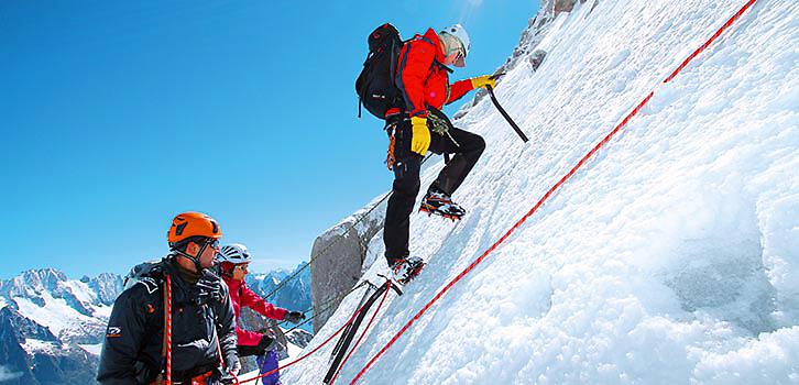 Alpinism, Grand Paradis 4000 M forts heltid