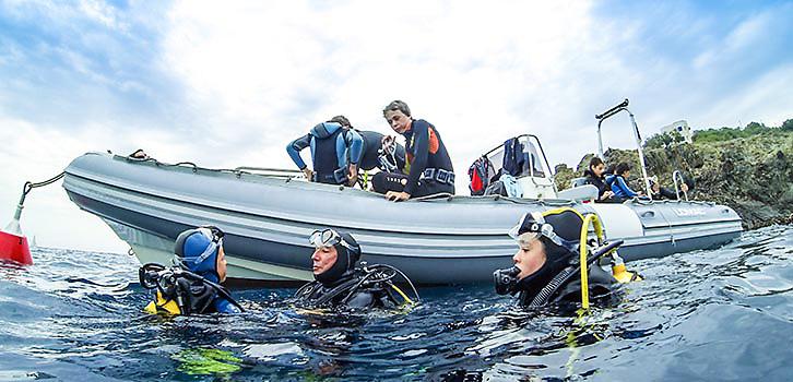 Dykning fortsättning heltid Triu