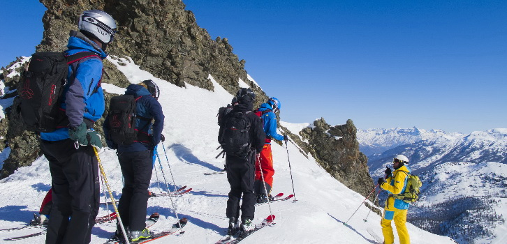 Ski off pist toute neige heltid