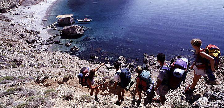 Vandring Kreta heltid