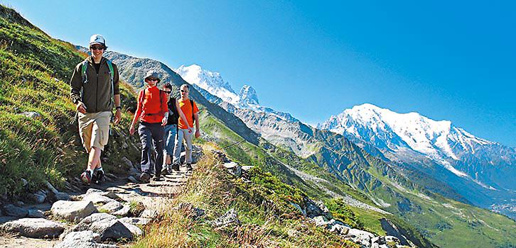 Vandring Five summits heltid