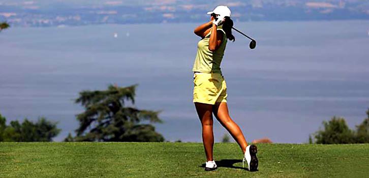 Golf fortsättning halvtid