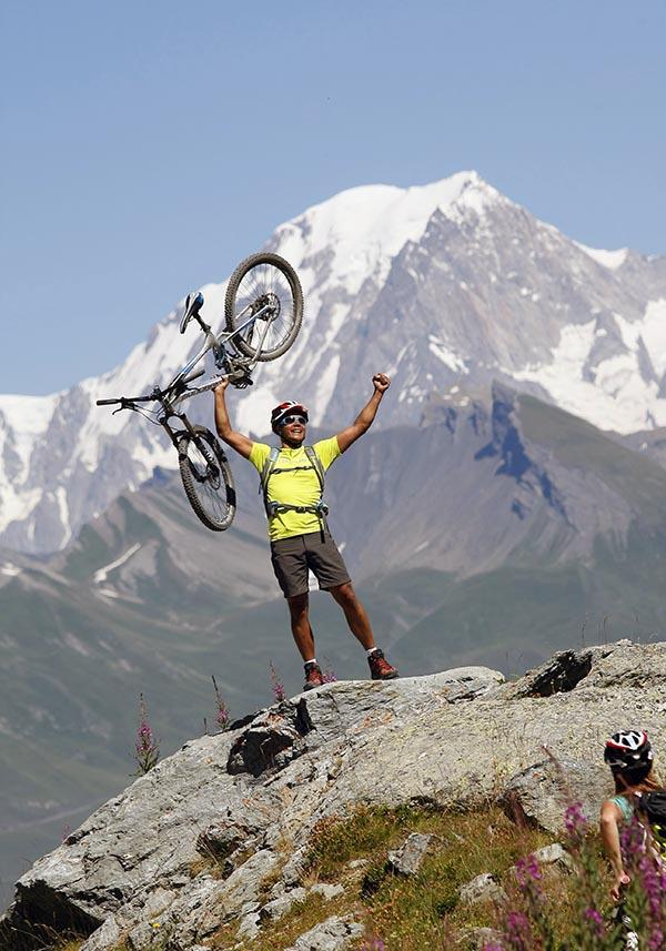UCPA Resor - MTB runt Mt Blanc heltid