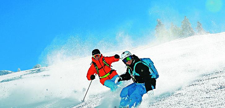Ski eller snowboard Autonome