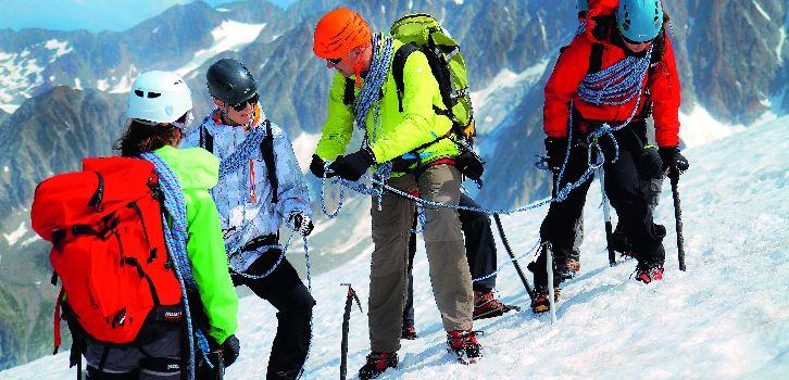 Alpinism fortsättning heltid, Prép Mt Blanc