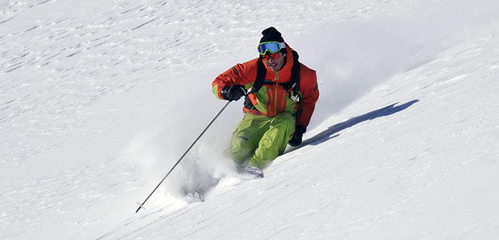 Ski off pist expert deluxe