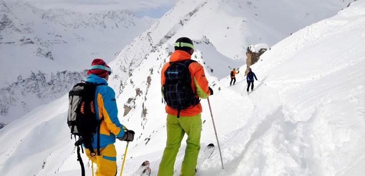 Ski off pist nybörjare