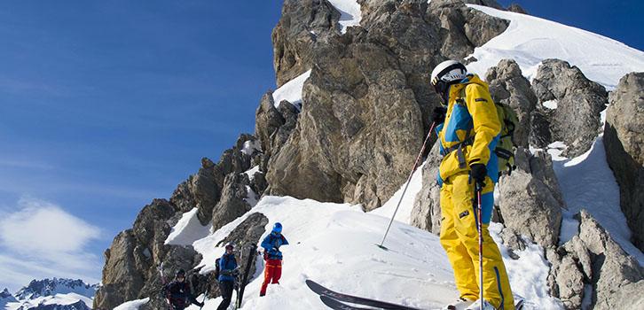 Ski off pist expert