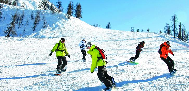 Snowboard heltid, nybörjare